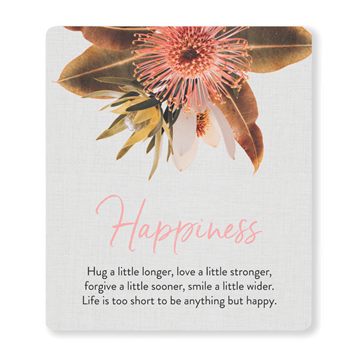 Picture of Flourish happiness verse