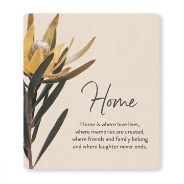 Picture of Flourish home verse