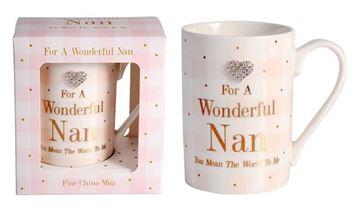 Picture of Mad dots nan mug