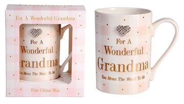 Picture of Mad dots grandma mug