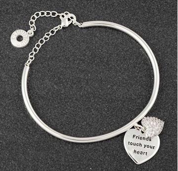 Picture of EQ heart bracelet friend