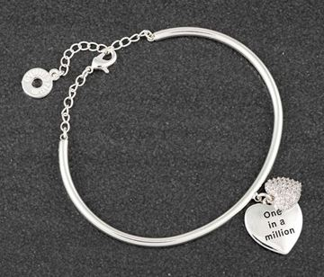 Picture of EQ heart bracelet million