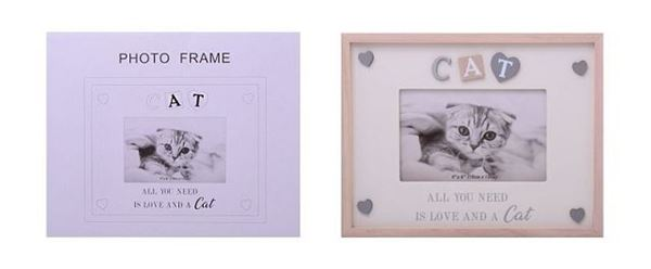 Picture of 6x4 cat sentiment frame