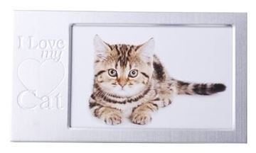 Picture of I love my cat frame