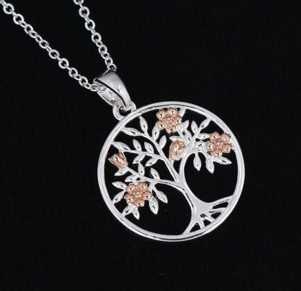 Picture of EQ tree of life necklace