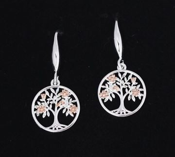 Picture of EQ tree of life earrings