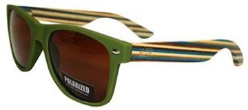 Picture of Sunnies green with striped arm