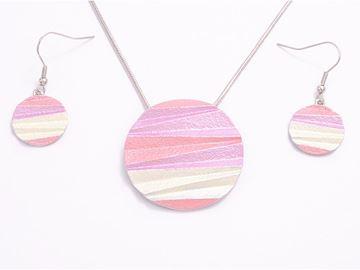 Picture of Lavender round pendant set