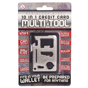 Picture of 10 in 1 credit card multi tool