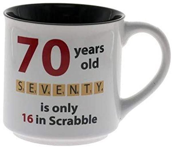 Picture of 70 scrabble mug