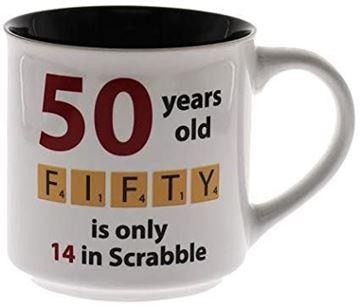 Picture of 50 scrabble mug