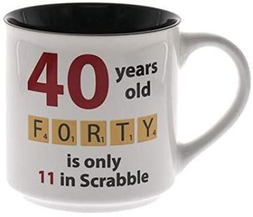 Picture of 40 scrabble mug
