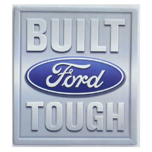 Picture of Built ford tough wall plaque