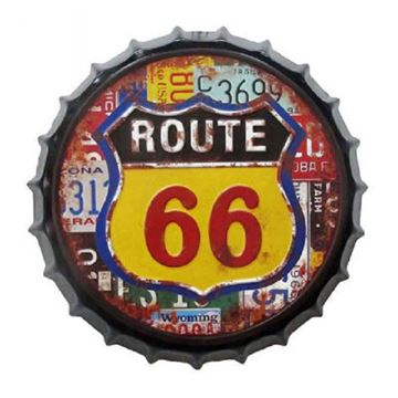 Picture of Route 66 bottle top