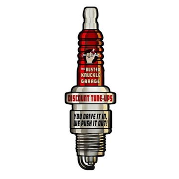 Picture of Spark plug wall plaque