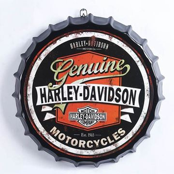 Picture of Harley bottle top sign