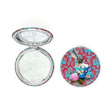 Picture of Fantail/cup compact mirror