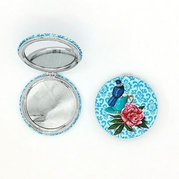 Picture of Tui/flowers compact mirror