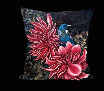 Picture of Tui pink flower cushion cover