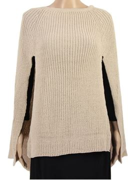 Picture of Sage front slits poncho