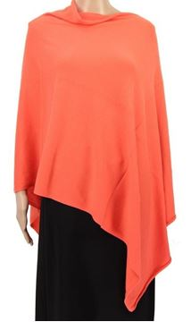 Picture of Apricot stretch poncho