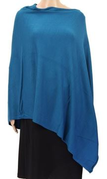 Picture of Blue stretch poncho