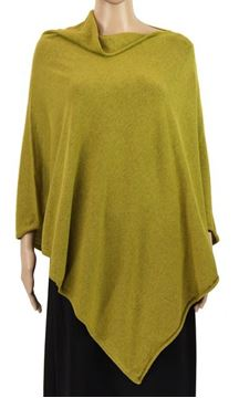 Picture of Chartreuse stretch poncho