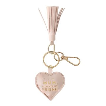 Picture of Pink heart keychain