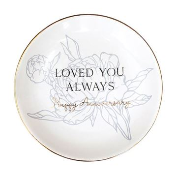 Picture of Anniversary love trinket plate