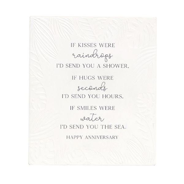 Picture of Anniversary kisses verse