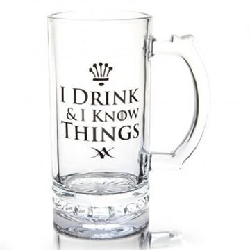 Picture of Beer stein I drink I know