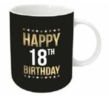 Picture of Gold foil 18th mug