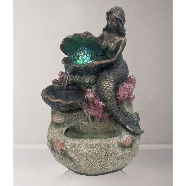 Picture of Mermaid ball water feature