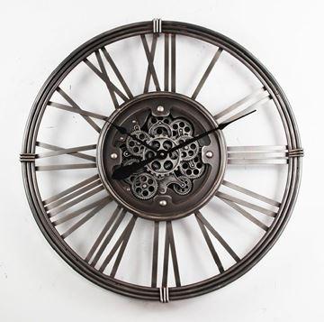 Picture of Silver gear clock 55cm