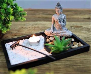 Picture of Zen garden buddha meditative