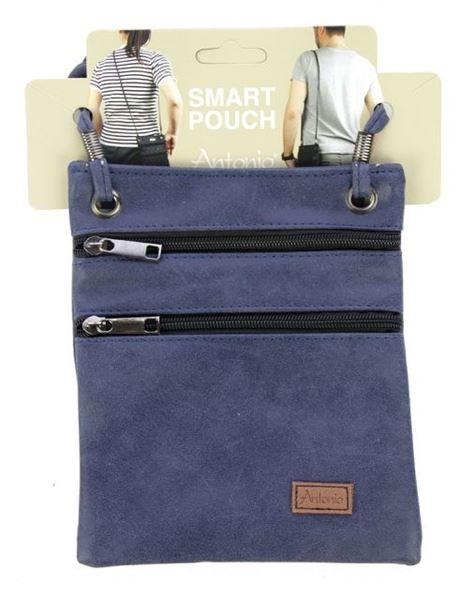 Picture of Denim compartment bag