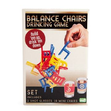 Picture of Balancing chairs drinking game