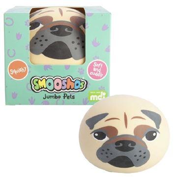 Picture of Jumbo pug ball smoooshos