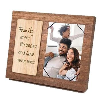 Picture of Family wooden frame 4x6
