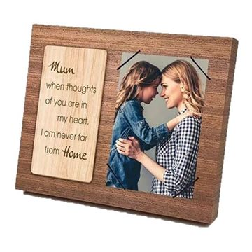Picture of Mum wooden frame 4x6