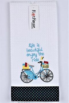 Picture of Tea towel enjoy the ride