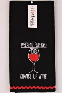 Picture of Tea towel wine forecast