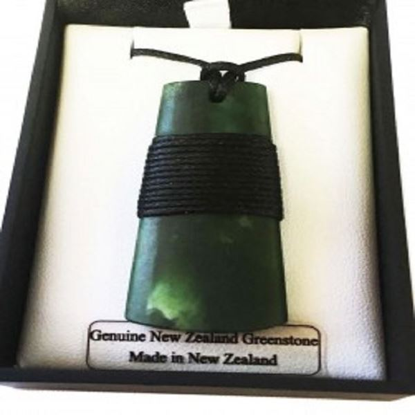 Picture of NZ greenstone toki 45mm