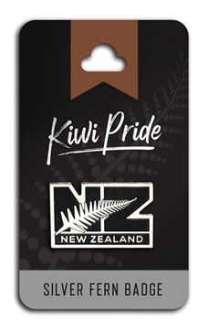 Picture of Badge NZ with silver fern
