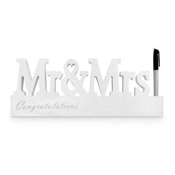 Picture of Mr & mrs signature block