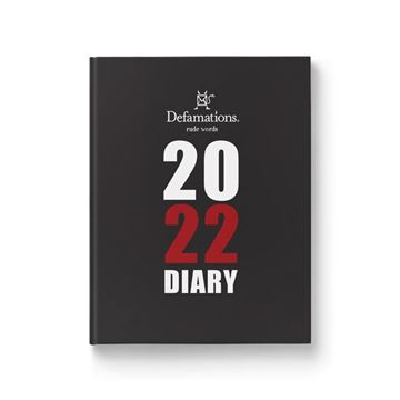 Picture of Defamations diary 2022
