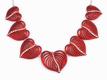 Picture of Red leaves necklace