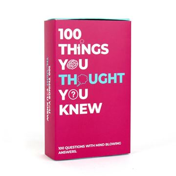 Picture of 100 things you thought you