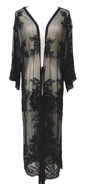 Picture of Black lace cape