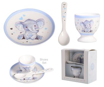 Picture of Baby elephant boys egg cup